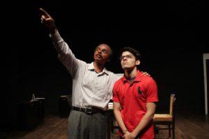 English Comedy Play Starring Darsheel Safary And Abhishek Pattnaik @ Sir Mutha Venkatasubba Rao Auditorium